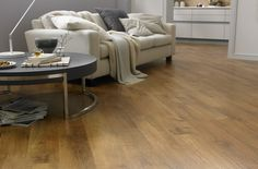 Vinyl: Functional and Good-looking Living Room Flooring Solution ...