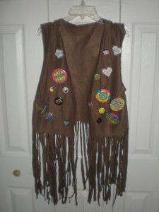 Hippie vest ... peace love bingo!