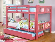 Shop for Furniture of America Dai Contemporary Full over Full Bunk Bed. Get free delivery On EVERYTHING* Overstock - Your Online Furniture Outlet Store! Full Size Bunk Beds, Safe Bunk Beds, Twin Bunk Beds, Kids Bunk Beds, Wooden Bunk Beds, Bunk Beds With Stairs, Loft, Shared Rooms, Headboard And Footboard