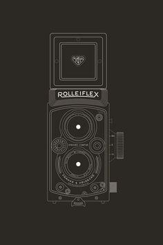Rolleiflex #Vintage #ad #rolleiflex