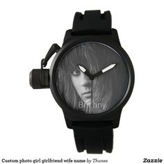 Love you custom photo girl girlfriend wife watch. A gift for Valentine, Valentine's Day Watch Photo, Birthday Gifts For Girls, White Elephant Gifts, Custom Photo, Girl Gifts, Michael Kors Watch, Valentine Gifts, Gifts For Him, Girlfriends