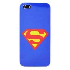 Superman hard case telefoonhoesje voor iPhone 5/5S - PhoneGeek.nl
