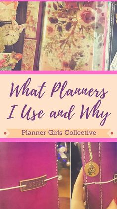 My current planner set up and what planners I use and why - Join me and the other Planner Girls Collective bloggers as we run through our current planners. Kerrymay._.Makes