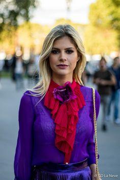 Lala Rudge Paris Fashion Week SS17