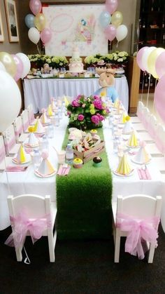 Birthday Party Decorations 542402348871264553 - 13 Adorable Ideas for a Peter Rabbit Party Easter Birthday Party, Bunny Birthday, 3rd Birthday Parties, Birthday Party Decorations, 2nd Birthday, Birthday Ideas, Peter Rabbit Party, Peter Rabbit Birthday, Party Fiesta