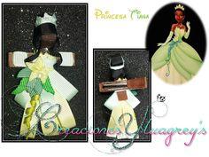 Escultura en cinta de la princesa Tiana!!