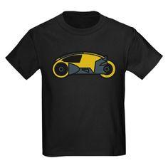 TRON Lightcycle Kids Dark T-Shirt