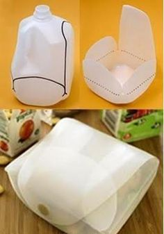 What a great idea! Recycle plastic bottles into a pouch