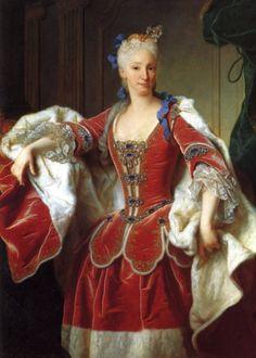 1732 Jean Ranc - Portrait of Elisabeth Farnese, Princess of Parma and Queen of Spain