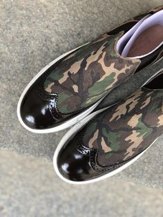 Short Boots, Brogues, Design Your Own, Calf Leather, All The Colors, Camouflage, Stylish, Brown, Sneakers