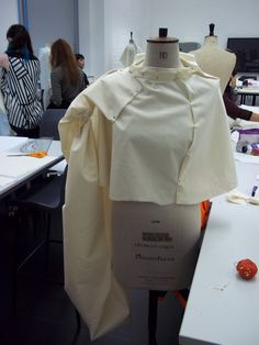 17.11.2014 - Pattern Cutting, Stand Dressing