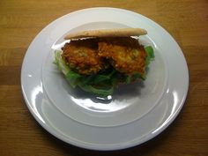 Spicy carrot & courgette fritters
