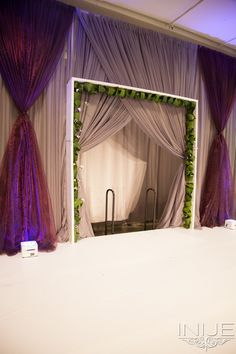 Fashion Show Stage by Botany Bay Florist | Bridal Extravaganza of Atlanta