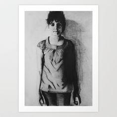 Who is Anna? Art Print by Norbert Katona - $17.00