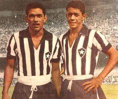 Garrincha e Amarildo..@Jorge Martinez Cavalcante (JORGENCA)