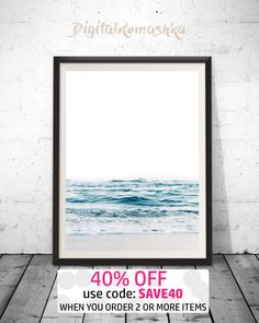 Ocean Print Sea Photography Ocean Water Wall Art Ocean - add between chairs above cardenza. Paint wall grey add large area rug with simple print on it, nothing common. Coastal Bedrooms, Coastal Living Rooms, Coastal Homes, Coastal Bedding, Modern Coastal, Coastal Style, Coastal Decor, Coastal Industrial, Coastal Entryway