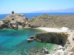 #andros Andros Greece, Vacation Wishes, Secluded Beach, Crystal Clear Water, Archaeological Site, Heaven On Earth, Beautiful Beaches, Night Life, Island