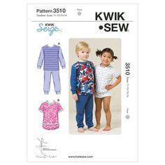 Mccall Pattern K3510 T1-T2-T3-T-Kwik Sew Pattern