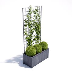 Garden Planters in zinc galvanized steel. High quality bespoke steel planters in square and trough designs. Large, heavy duty planters for exterior use. Garden Troughs, Herb Garden Planter, Trough Planters, Metal Planters, Metal Trellis, Diy Trellis, Garden Trellis, Garden Fencing, Rooftop Garden
