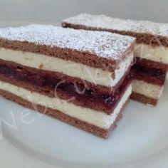 Baking Recipes, Cake Recipes, Hungarian Desserts, Cake Bars, No Bake Cake, Tiramisu, Food And Drink, Cookies, Ethnic Recipes