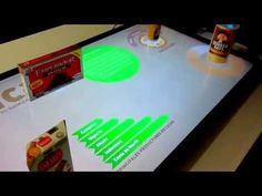 ▶ Object recognition with multi touch table - YouTube
