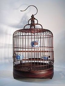 Chinese Scholar's Birdcage 1920's