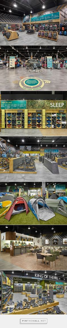 Ultimate Outdoors Megastore by Briggs Hillier, Nottingham & Merryhill – UK » Retail Design Blog... - a grouped images picture - Pin Them All