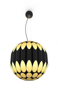 Inspired by the big afro hair styles that popularized the 60s, Kravitz Suspension is also a tribute to the rock star, Lenny Kravitz. A series of tubes in a circular pattern shaped like a ball make this a funky modern looking centerpiece to hang over a great table or decorate the center of a room.
