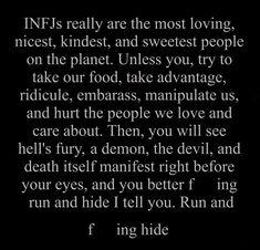 INFJ rage