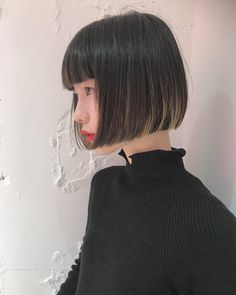 18 Bob Hairstyles for Fine Hair - Long Bob Hairstyles 2019 Pelo Midi, Bob Hairstyles For Fine Hair, Lob Haircut, Japanese Hairstyle, Shiny Hair, Brown Hair Colors, Hair Looks, Hair Trends, Short Hair Styles