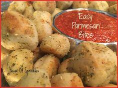 Parmesan Bites | House of Sprinkles
