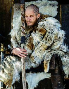 Ragnar Lothbrok played by Travis Fimmel - Vikings Season 4