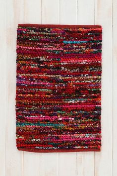 Magical Thinking Handwoven Loop Rug $34-$129 Urban Outfitters  ( RED or PINK )
