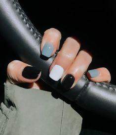 Dip Nail Colors, Cute Nail Colors, Cute Nails, Pretty Nails, Cute Shellac Nails, Shellac Nail Colors, Popular Nail Colors, Popular Nail Designs, Winter Nail Designs