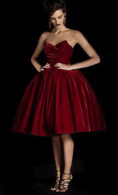 velvet dresses 33