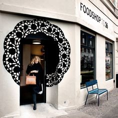 Foodshop no. 26 copenhagen, denmark beauty, spa, zen etc shop facade, shop fronts