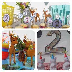 #FantastiqueKids #BirthdayParty #Bambi Cumple de ahijada!