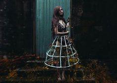 """Renaissance"" —  Photographer/Model: Yolanda García Photography  #DarkBeauty #DarkBeautyMag #selfportrait #photography"