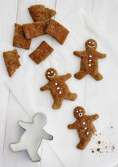 *Gingerbread Cookie Dog Treat Recipe