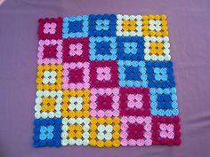 Manta de círculos | Arrorró en colores sarapalacios.com.ar/m… | Flickr