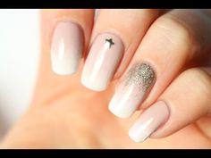 Le nail-art Baby boomer : facile et tout doux! - YouTube
