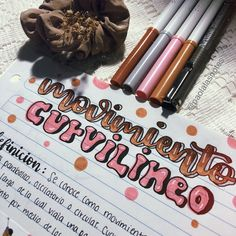 Bullet Journal Titles, Bullet Journal Aesthetic, Bullet Journal School, Art Journal Pages, Cute Notes, Pretty Notes, Class Notes, School Notes, Colorful Notes