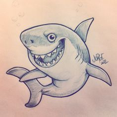 http://yoquepinto.blogspot.com.es/ #sketch #illustration #shark