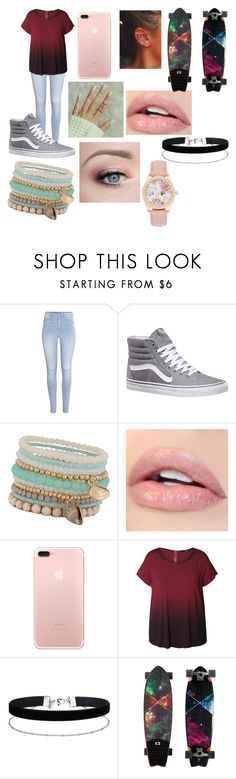 """Lauren"" by emilypaul0400 on Polyvore featuring H&M, Vans, ALDO, Dex, Miss Selfridge and plus size clothing"
