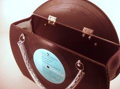 Elvis Presley record purse!