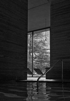 Therms of Vals , Peter Zumthor