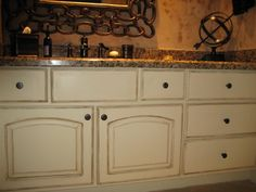 painting cabinets | the never ending upkeep of painted cabinets distress them any new nick ...