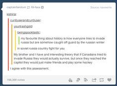 Lol nice guy Canada