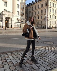 120 fancy winter outfits ideas for women to try right now – page 37 Casual Winter Outfits, Winter Fashion Outfits, Autumn Winter Fashion, Trendy Outfits, Fall Outfits, Ootd Winter, Dress Winter, Autumn Style, Winter Coat