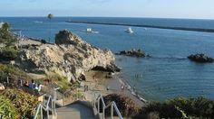 Pirates Cove. Corona del Mar, CA.  <3 Love that place.